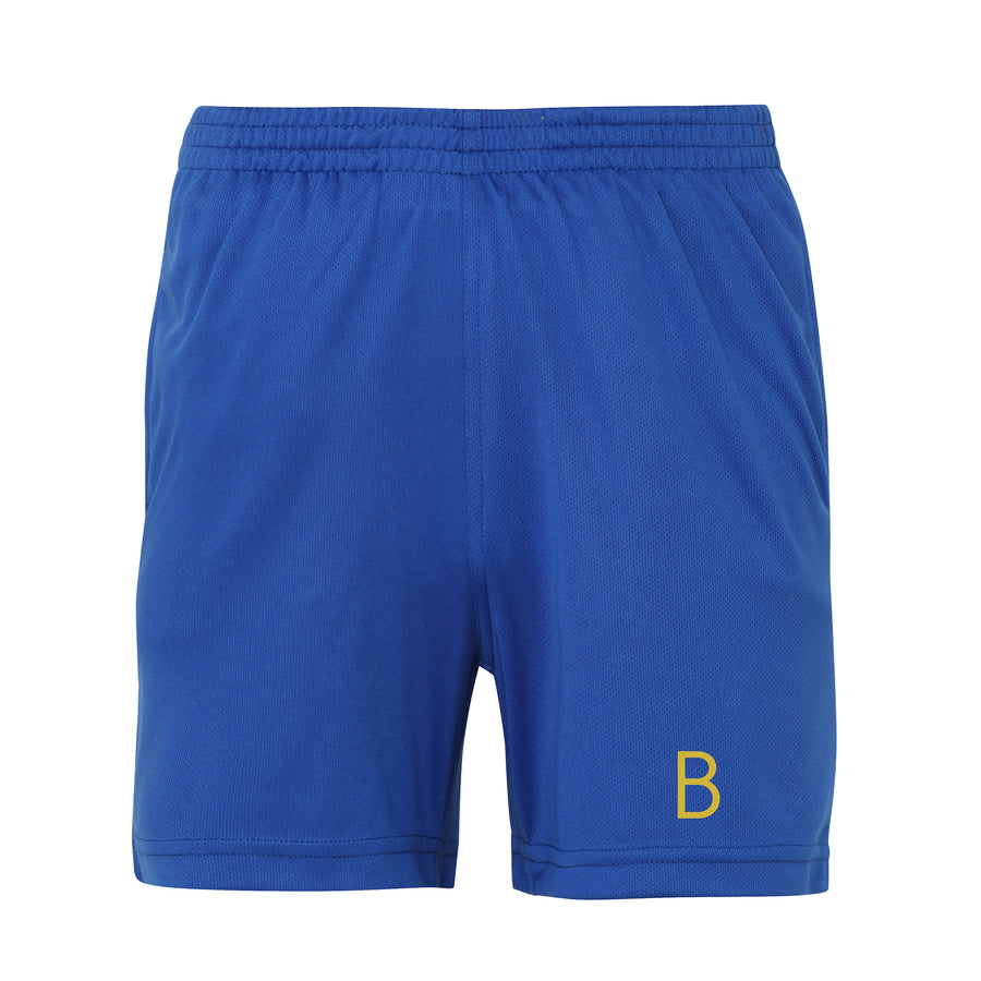 Kids Royal Blue Sport Shorts - BEGURA