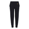 Kids Tapered Black Track Pants - BEGURA