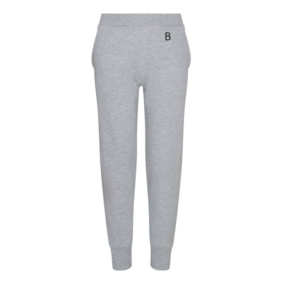 Kids Tapered Grey Track Pants - BEGURA