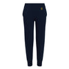 Kids Tapered Navy Track Pants - BEGURA