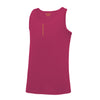 Kids Performance Vertical Pink Vest Top - BEGURA