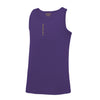 Kids Performance Vertical Purple Vest Top - BEGURA