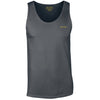 Cotton Charcoal Vest Top - BEGURA