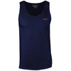 Cotton Navy Vest Top - BEGURA