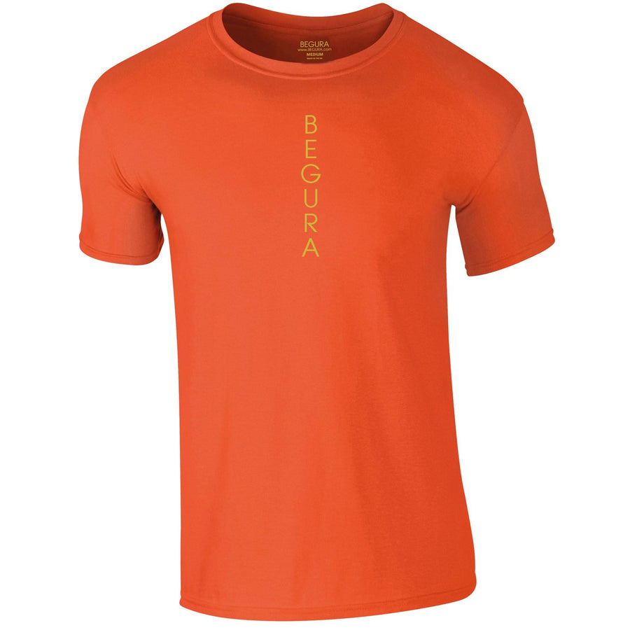 Vertical Orange T-Shirt - BEGURA
