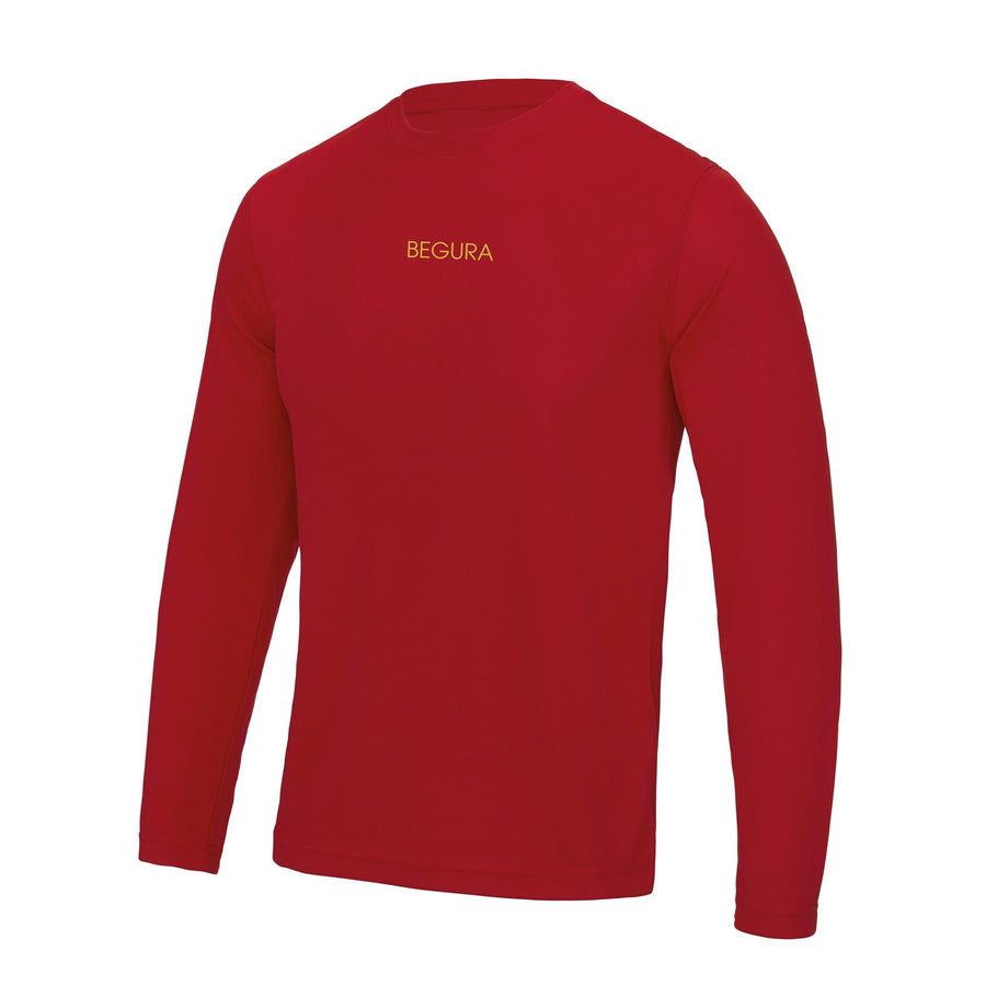 Performance Red Long Sleeves - BEGURA