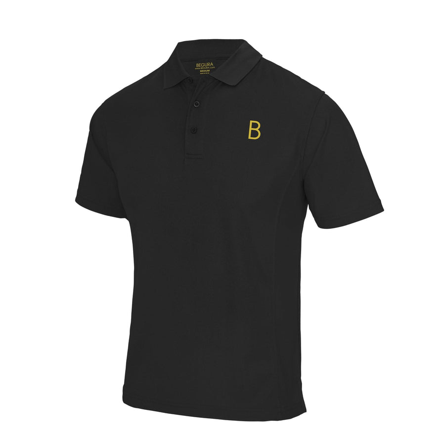 Performance Sports Black Polo - BEGURA