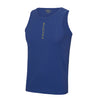 Performance Vertical Royal Blue Vest Top - BEGURA