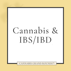 Cannabis & IBD/IBS