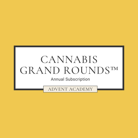 Cannabis Grand Rounds | Annual Subscription