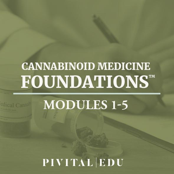 Cannabinoid Medicine Foundations | Modules 1-5