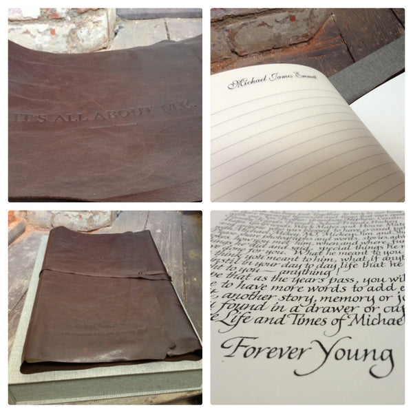 Customised Memorial Book