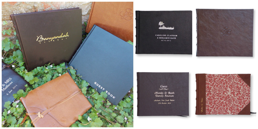 Customised Guest Books| Wedding guest books | Guest House Books
