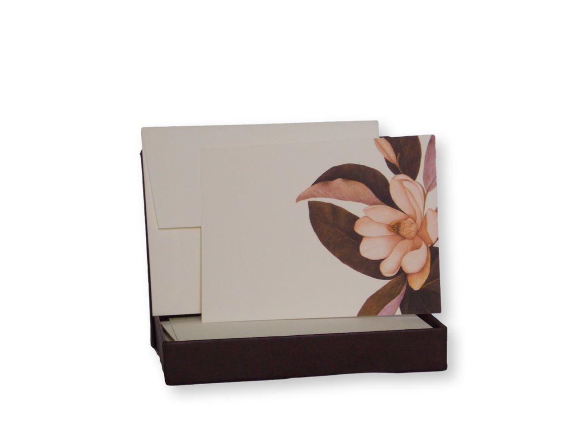 Fine Stationery | Boxed Caskata Stationery Set | Magnolia Design