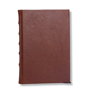 Full Leather Hard Bound Journal - Chestnut Brown