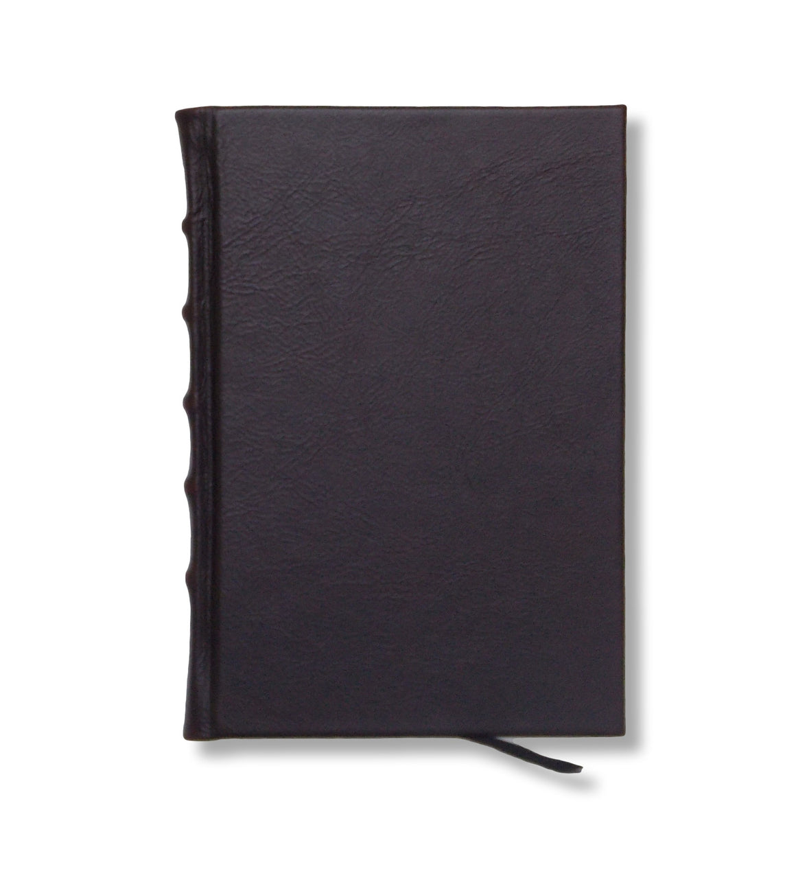 Full Leather Journal in Chocolate Brown