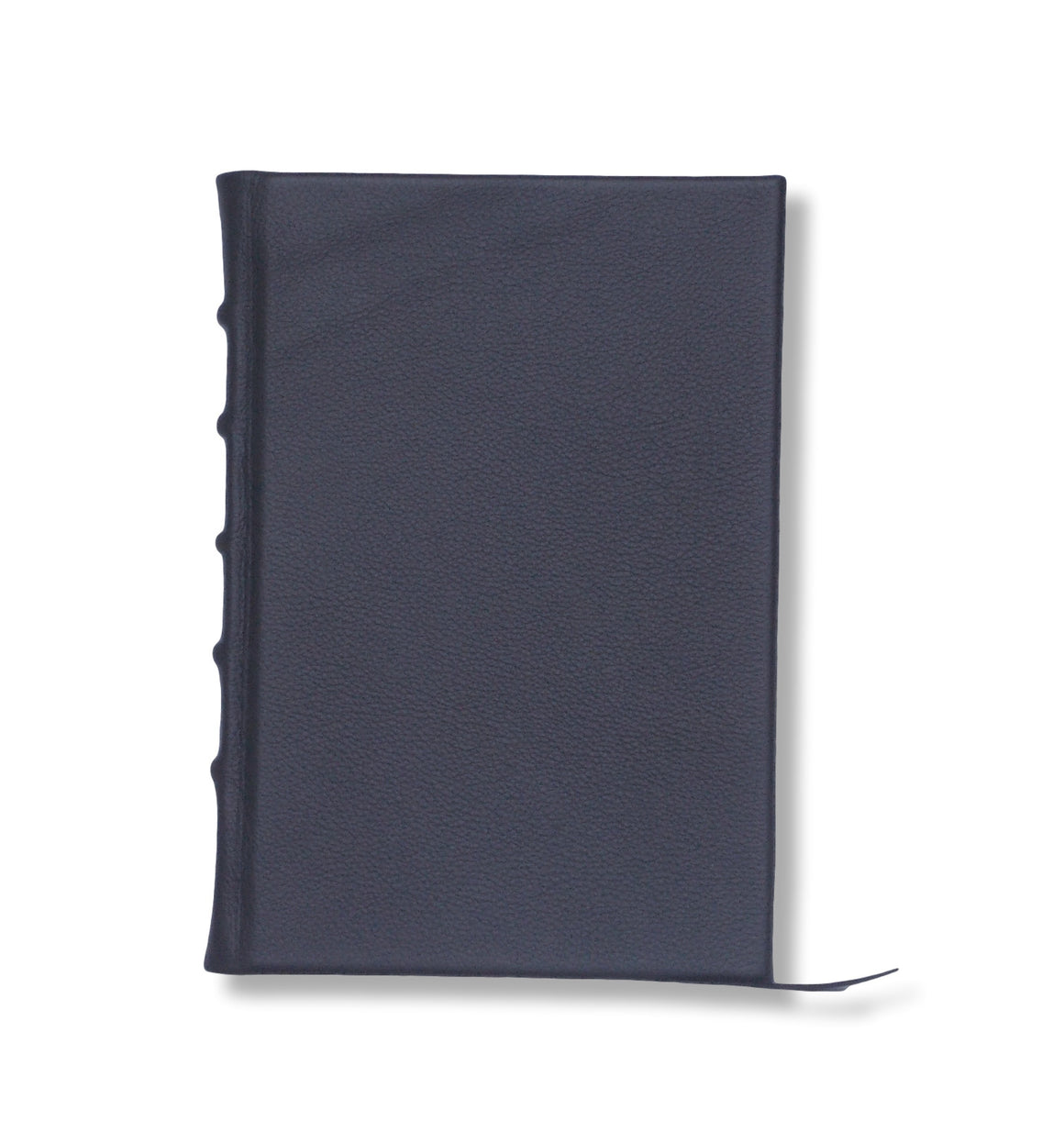 Navy Leather Hard Bound Journal
