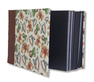 Teddies and doll design large photo album