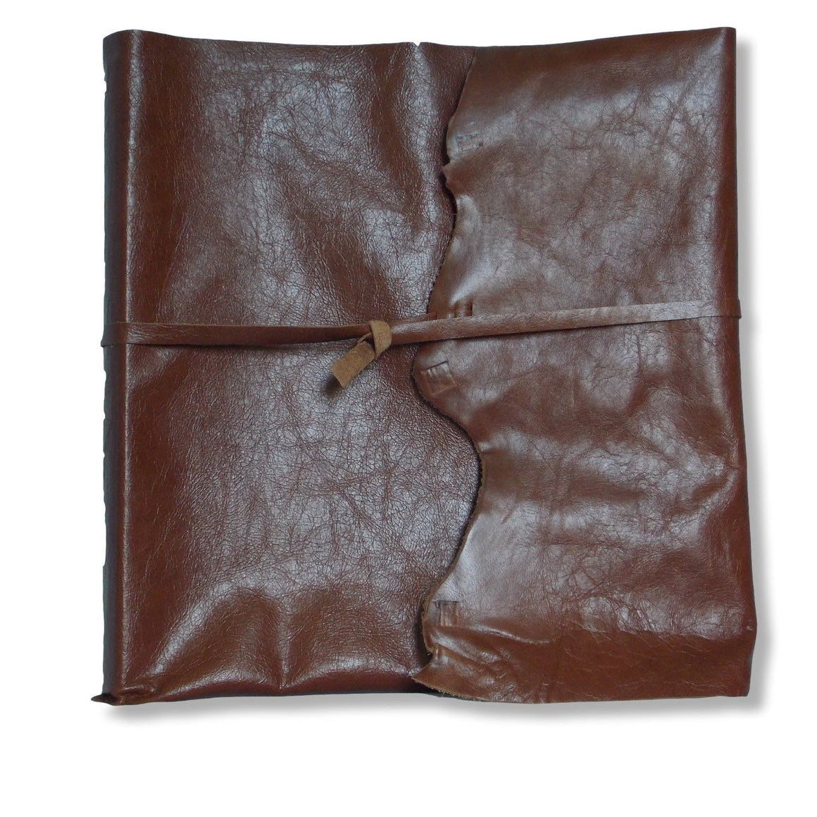 Large Leather Wrap Photo Album