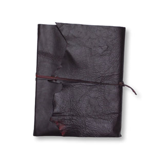 Chocolate leather wrap style photo album