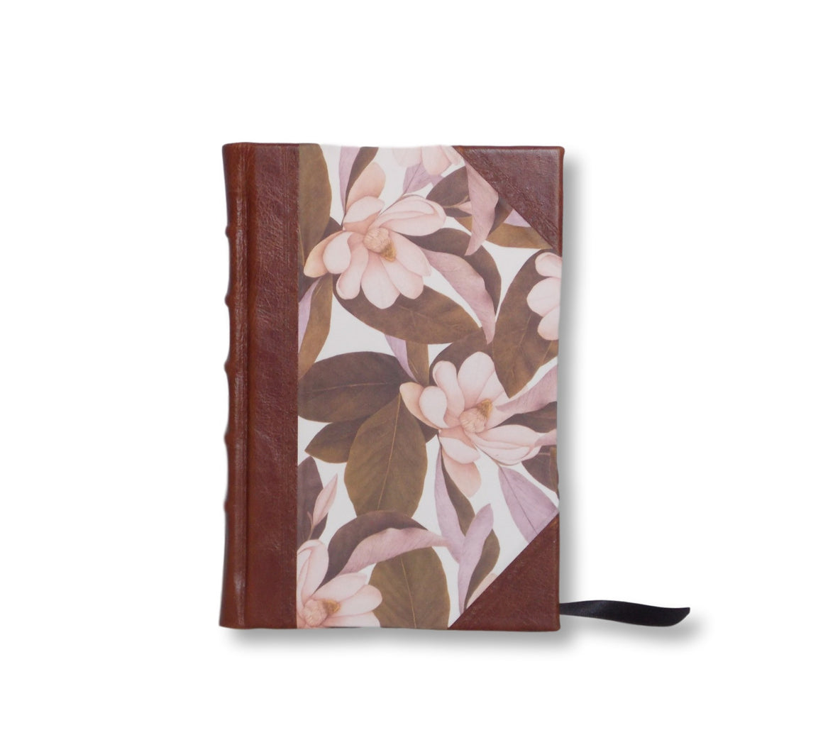 Half Leather Journal - Magnolia