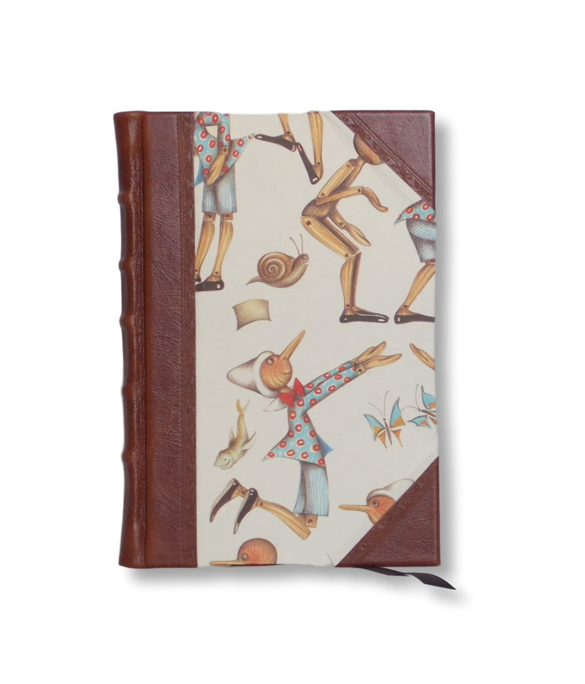 Half Leather Journal - Pinnochio
