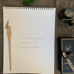 Calligraphy Practice Pad Lowercase