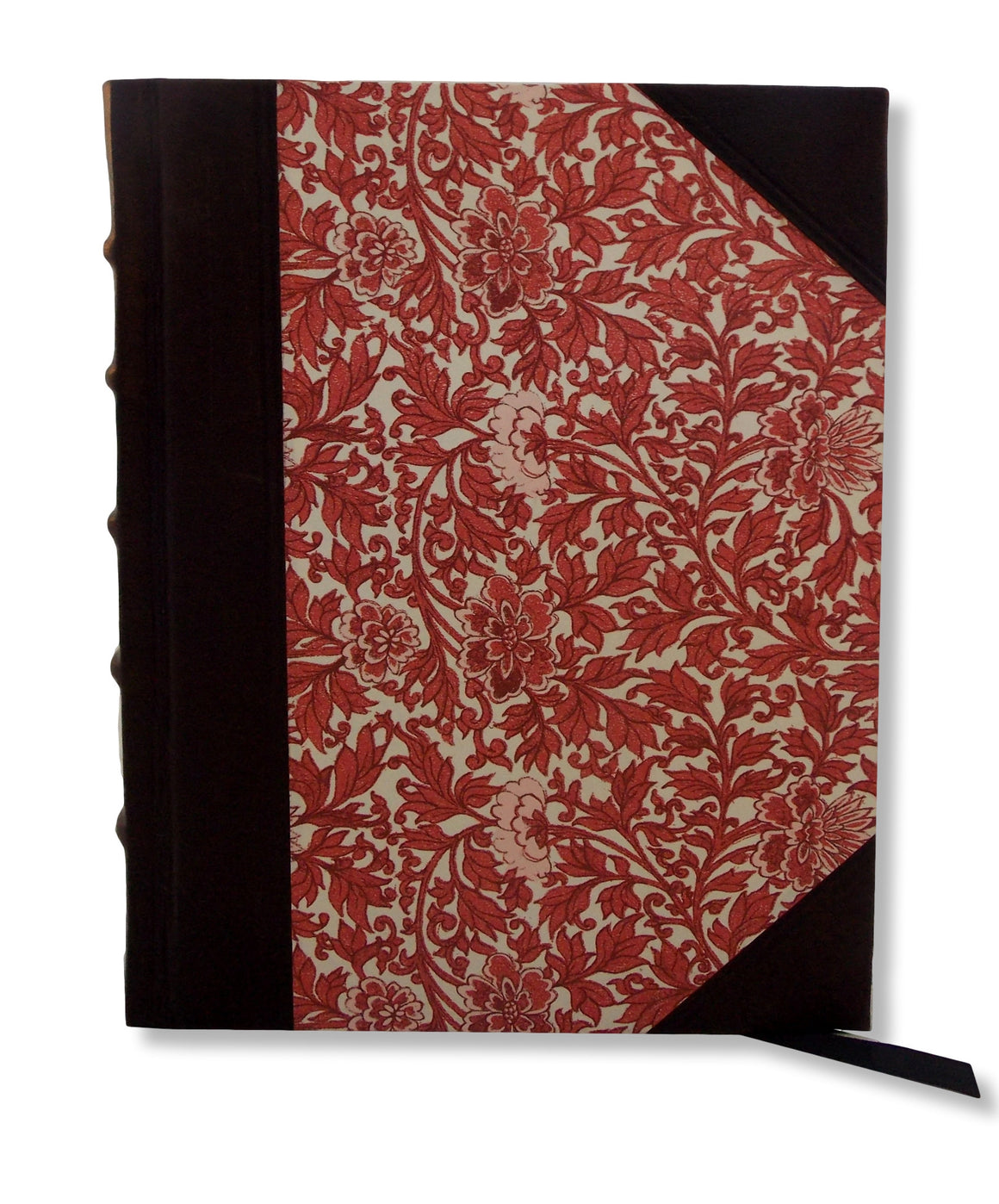 Provence Red Half Leather Journal