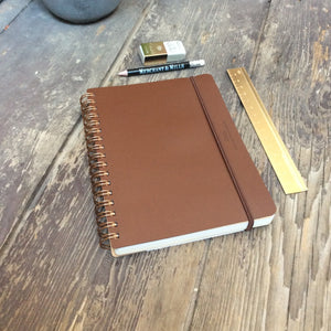 Grain Recycled Leather Notepad