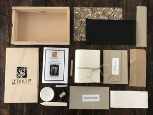 Bookbinding kit for beginner's.  How to make your own book