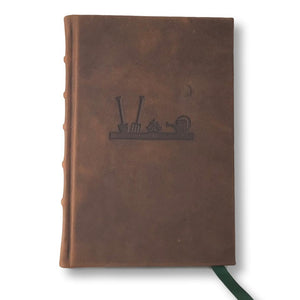 Leather gardener's journal