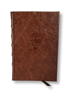 full leather travel journal