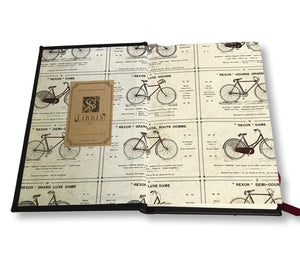 Inside cover bike journal
