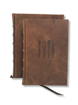 Leather Cook's Journal | Recipe Book