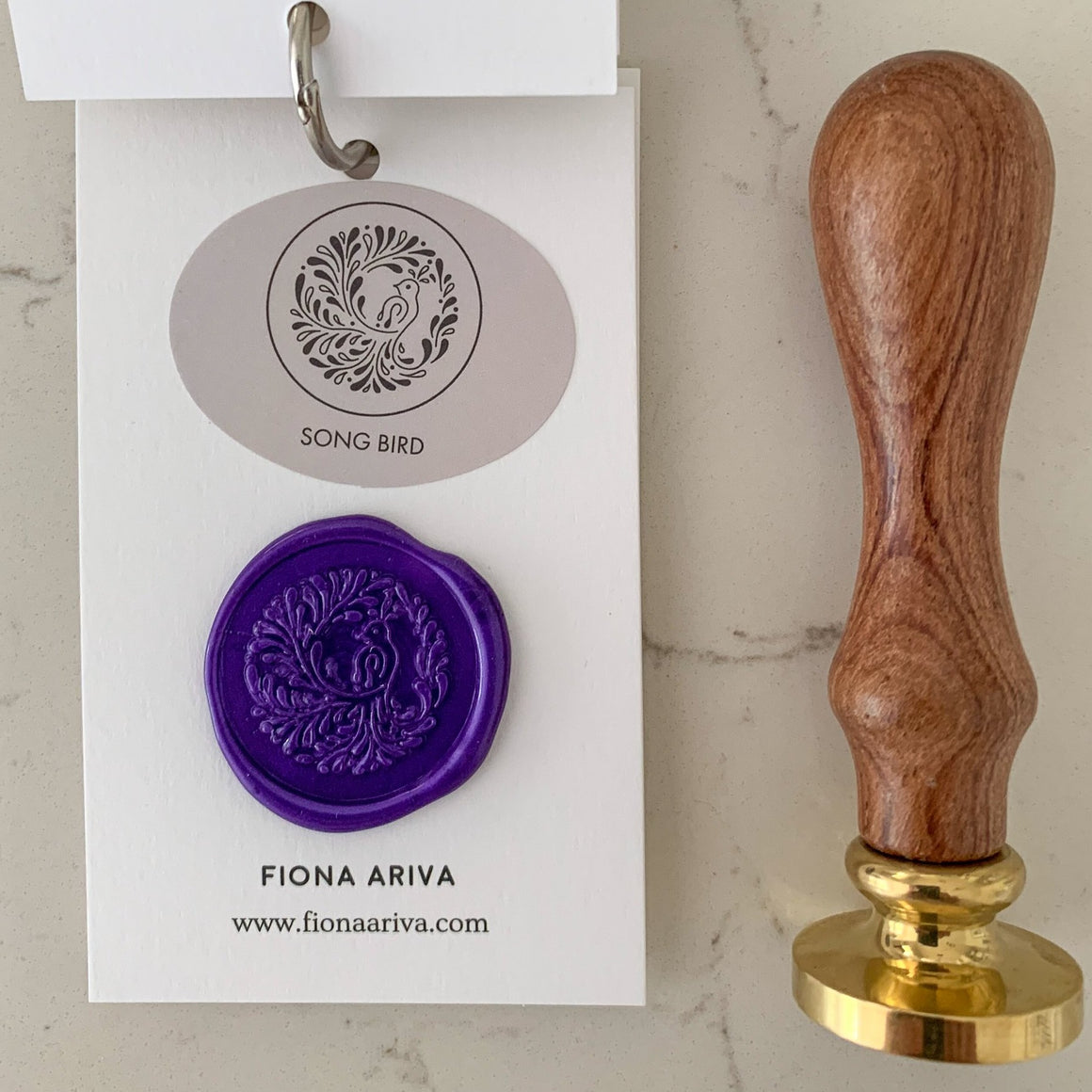 Song Bird Wax Seal