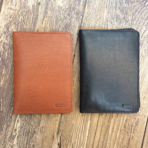 All the Kings Men Leather Passport Wallets
