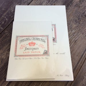 Original Crown Mill Fine Writing Paper Pad