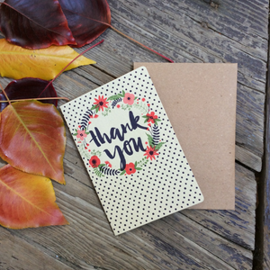 'Thank You' Polka Dot