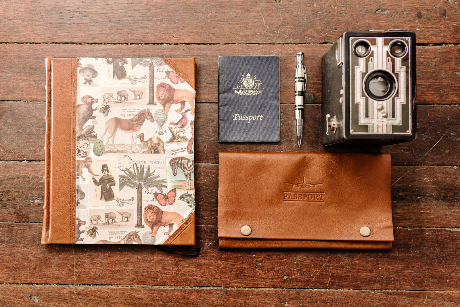 Travel Collection Journals Albums and Passport Wallet