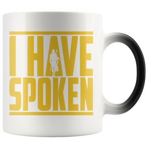 I have spoken Magic Mug Color Changing 11oz White Ceramic