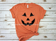 Load image into Gallery viewer, Unisex Halloween T-Shirt, Pumpkin Face Family T-Shirt