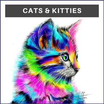 Cat Diamond Painting Kits
