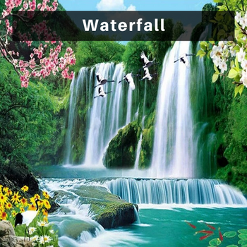 waterfall Diamond Painting