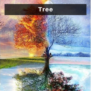 Tree Diamond Painting