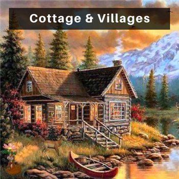 Cottage Diamond Painting