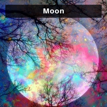 Moon diamond painting kits