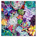 Succulent Colorful Flowers - Diamond Painting Kit