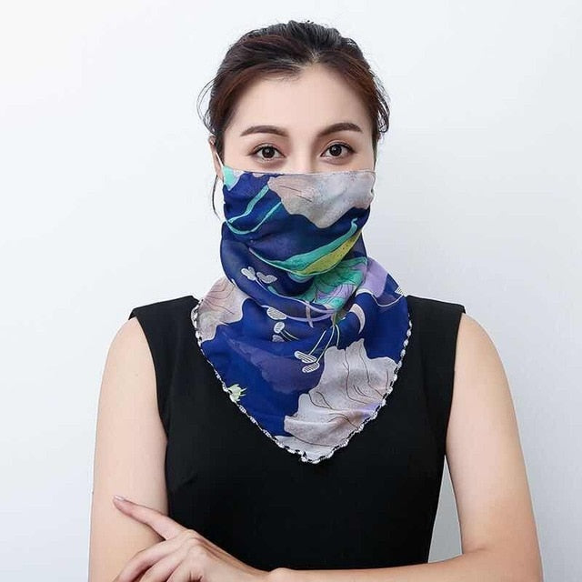 2-In-1 Sun Protection Mask & Scarf