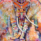Maharaja - Colorful Elephant Diamond Painting Kit