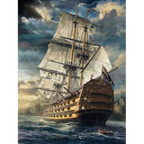 Ship On Sea - Diamond Painting Kit